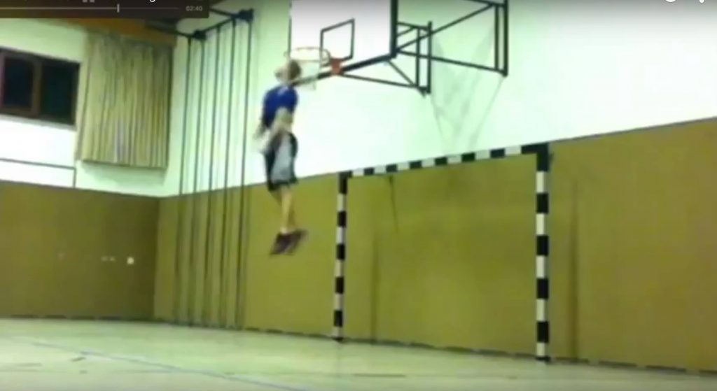 Jacob Hiller 40 inch vertical leap - how to jump higher